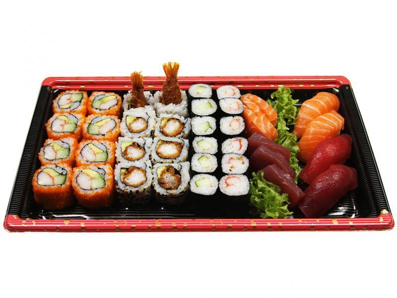 Sushi Sashimi Deluxe (Box A), 38 st.