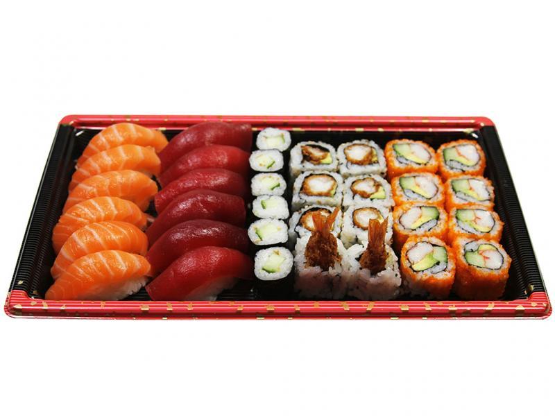 Sushi Mix Box (Box B), 34 st.