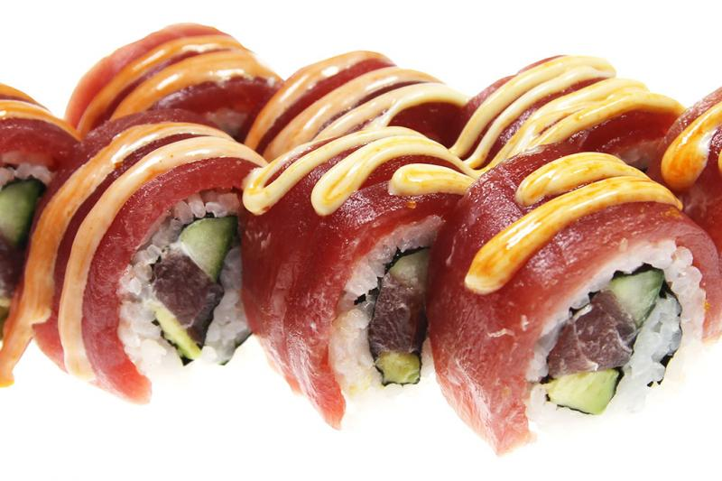 Soft Shell Spicy Tuna Roll