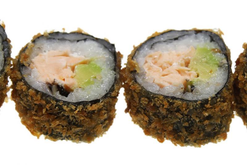 Crispy Salmon, 5 stuks