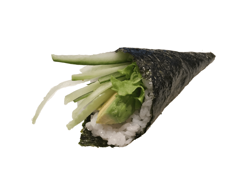 43. Avocado temaki