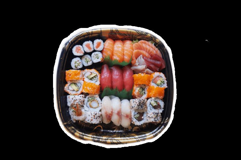 56. Sushi Sashimi set (40st.)