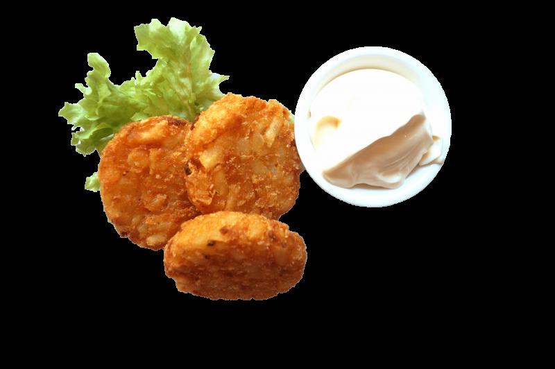 71. Aardappel koekjes (3 st.)
