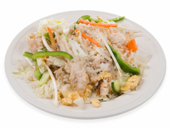 Nasi Goreng met kipfilet en groente